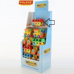 Rozwijająca zabawka domek edukacyjny Nr71 Wader 51394